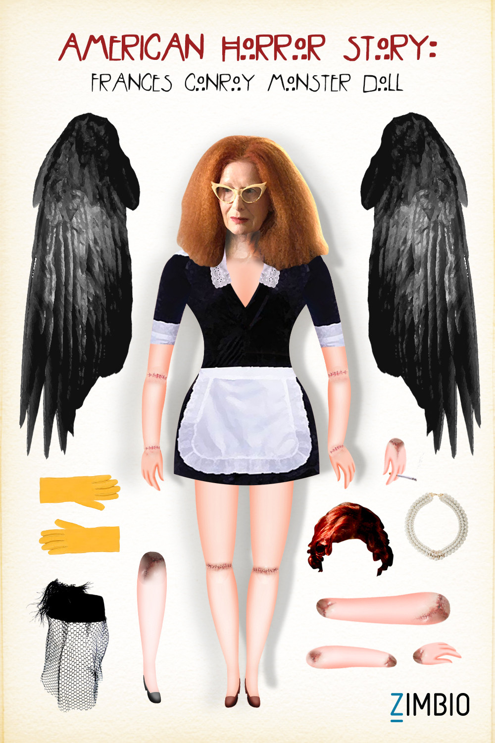 Our Paper Doll Monsters Are Exactly What Every 'American Horror Story' Fan Needs