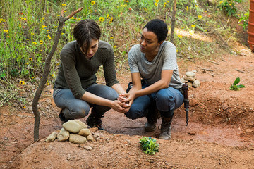 Three Episodes Left, Will Anything Happen on 'The Walking Dead' This Year?