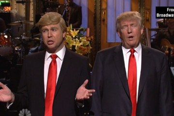 See the Biggest Moments from Donald Trump's 'SNL' Appearance