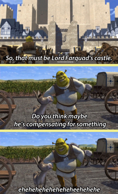Sexual innuendos in shrek 2
