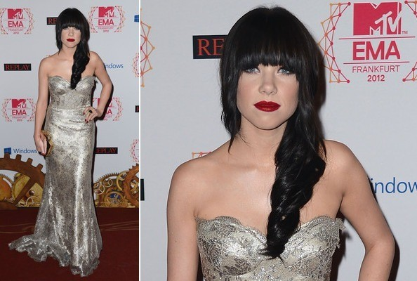 5 Inspiring Beauty & Hair Looks to Steal from the 2012 MTV EMAs Red Carpet