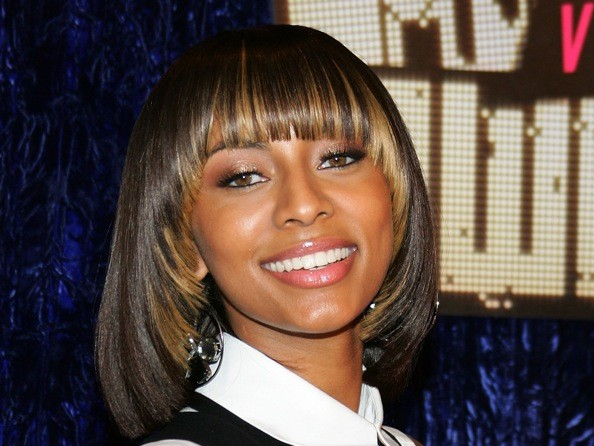 Tremendous Keri Hilson39S Hairstyles In Pictures Keri Hilson Hairstyles Zimbio Short Hairstyles Gunalazisus