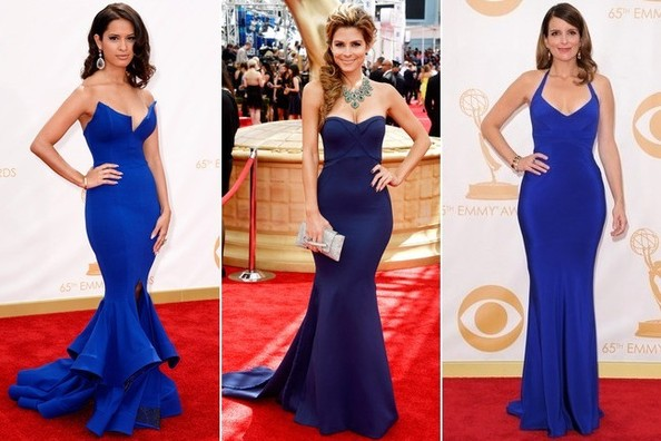 Blue Red Carpet Gowns
