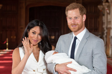 Meghan Markle And Prince Harry Share First Close-Up Pic Of Archie