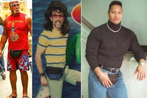 These Incredibly Awkward Fanny Pack Photos Prove Why Dads Rule