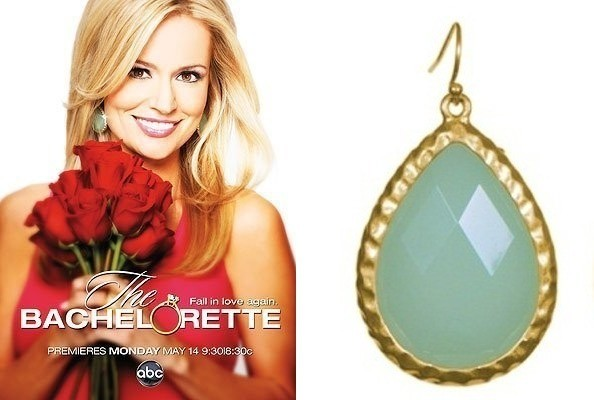 Get the Look - Emily Maynard's $30 Mint Green Earrings