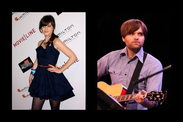 Zooey Deschanel was married to Ben Gibbard