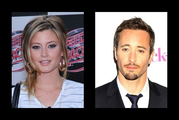 Alex oloughlin dating history