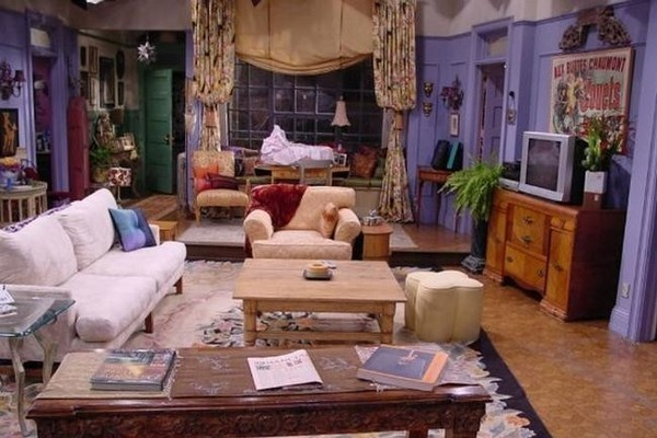 Iconic Living Room To The Tv Show