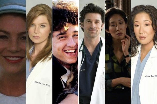 Grey S Anatomy Stars Then And Now