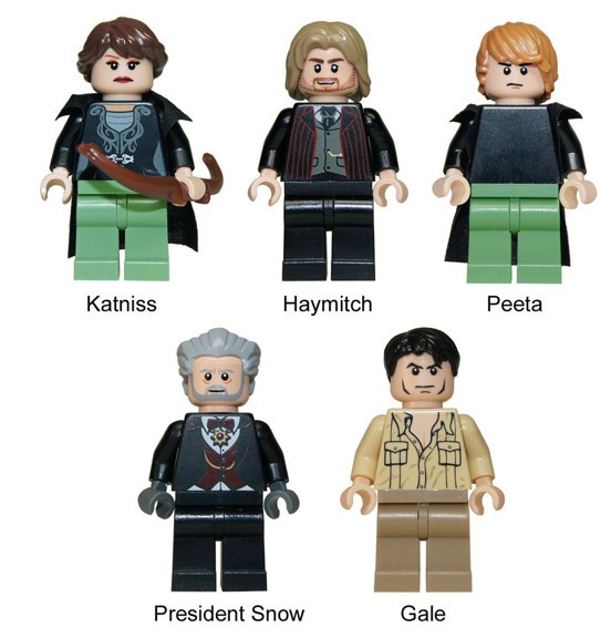 Lego-fied Tributes - The Most Ridiculous 'Hunger Games' Merchandise ...