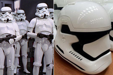 This Appears to Be Our First Picture of the New Stormtrooper Helmets