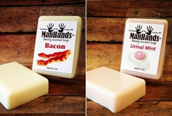 Man Soap: Make Your Dude Smell Like Bacon, Urinal Mints & More