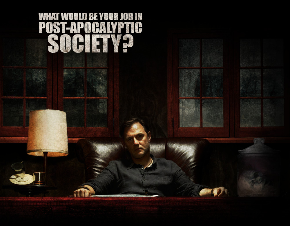 What Would Be Your Job In A Post Apocalyptic Society Quiz Zimbio