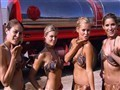 Slave Leia & Sara Jean Underwood: Star Wars Charity Car Wash