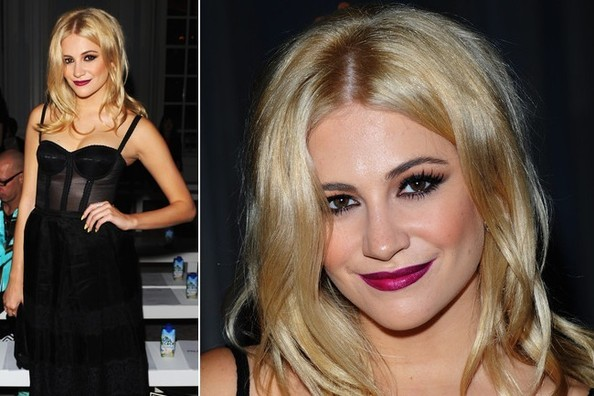Pixie Lott Makes Us Want to Wear Magenta Lipstick RIGHT Now