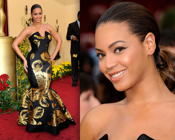 Celebrity Prom Inspiration 2010: Beyonce in House Of Dereon ...