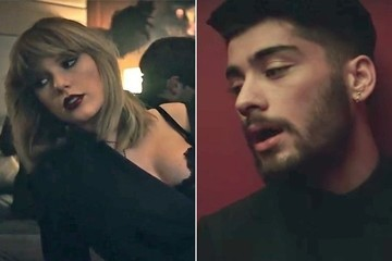 Taylor Swift, Zayn, and Zayn's Beard Heat It Up in 'I Don't Wanna Live Forever' Video