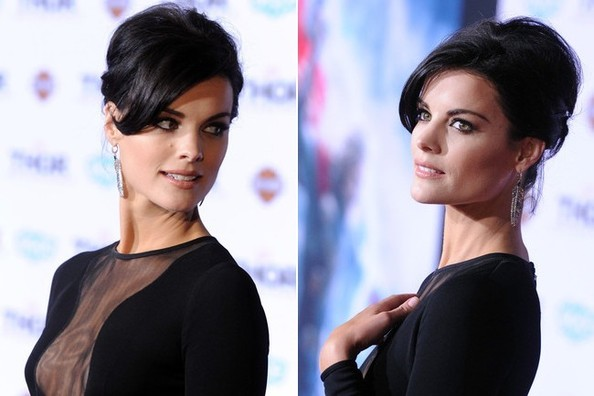 Jaimie Alexander Wore the Most Extreme Cutout Dress