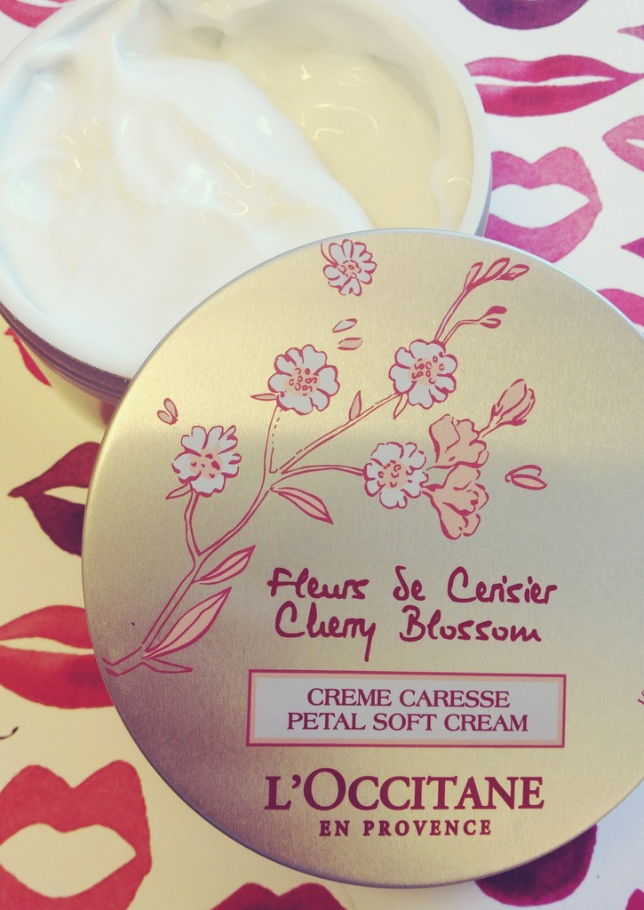 L'Occitane Cherry Blossom Cream—Because Winter Has To Go Away Eventually