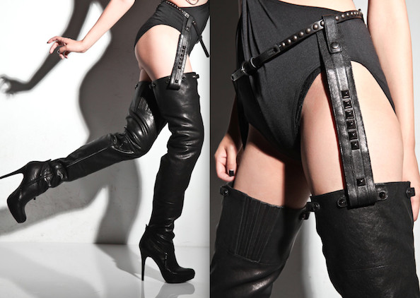 b6b852614b4 New From Report Signature  Womb Raider  Kane  Thigh High Boots ...