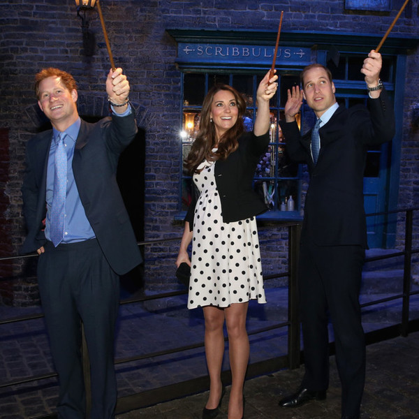 Prince Harry, Kate Middleton, and Prince William