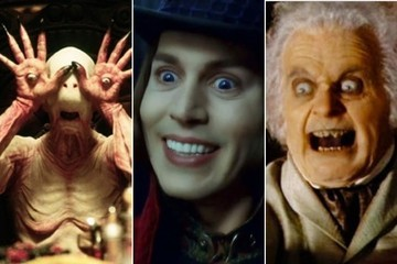 The Scariest Faces in Movies