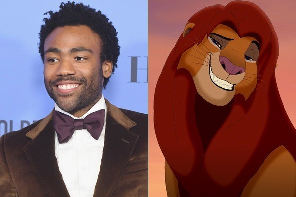 donald glover and james earl jones have been cast in the