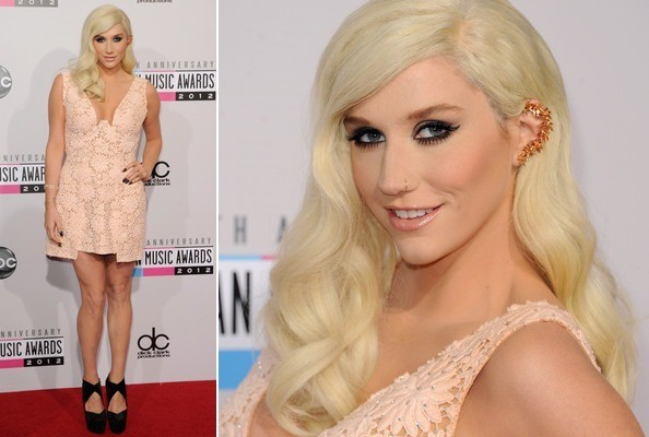 Ke$ha's Most Conventional—and Prettiest?—Red Carpet Look of all Time