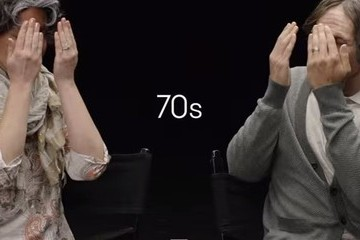 Watch an Engaged Couple Age 70 Years in 5 Minutes