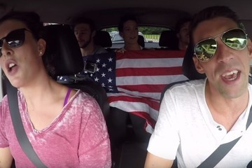 Michael Phelps and the U.S. Swim Team Tackle 'Carpool Karaoke' Like True Americans