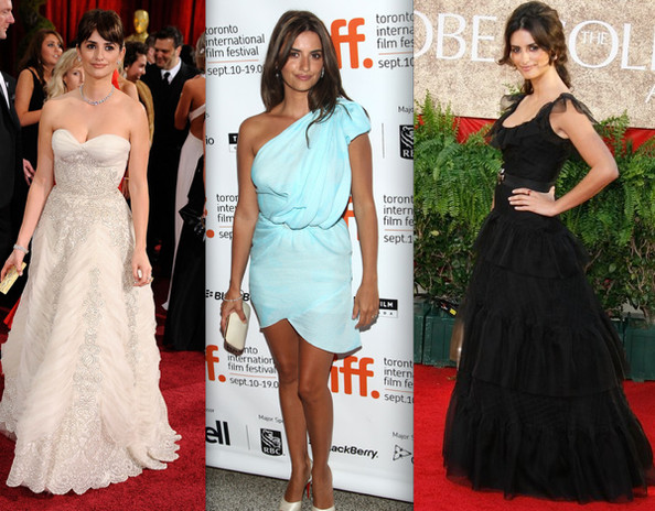penelope cruz red carpet dress. Penelope Cruz#39;s Red Carpet