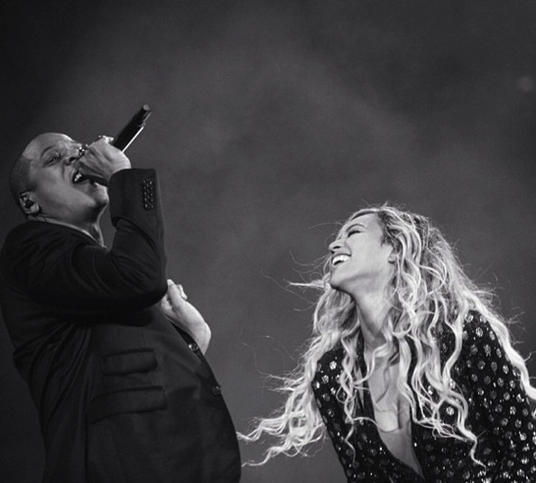 Beyonce and Jay Z continue to be the cutest.