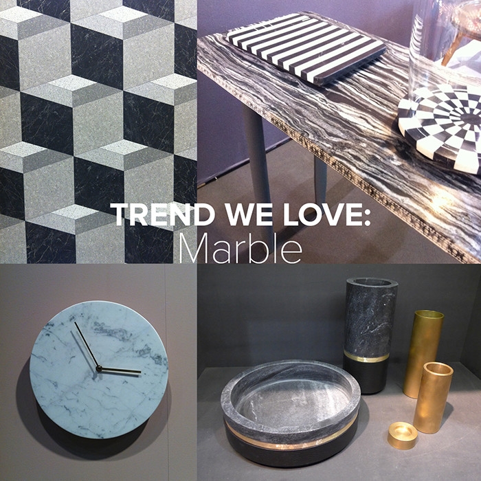 Marble trend | Lonny.com