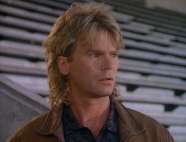 """MacGyver from 'MacGyver"""" - The Most WTF '80s TV Hair - Zimbio"""