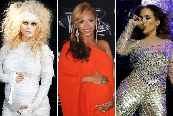 Over the Top Celebrity Pregnancy Reveals