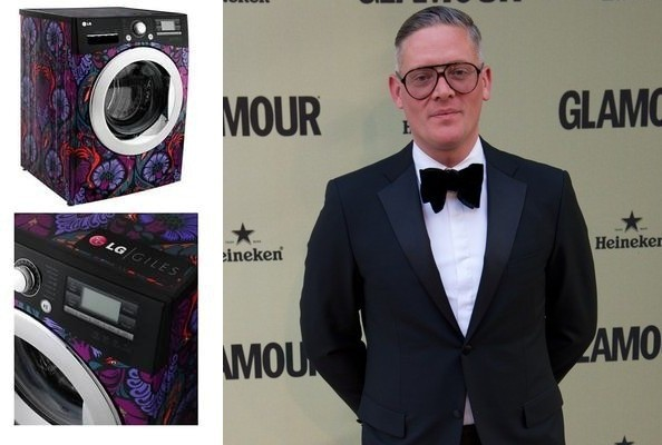 Giles Deacon Designed an LG Washing Machine