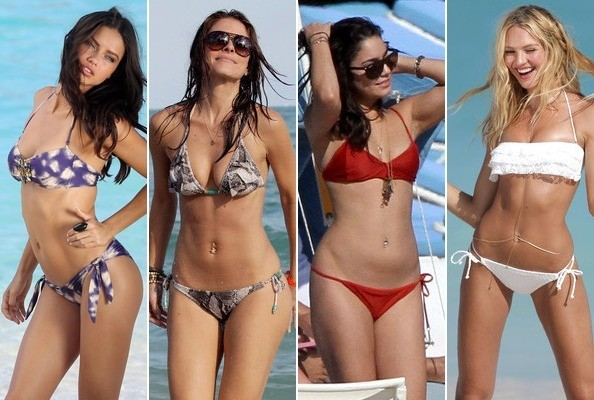 Celebrities in Bikinis