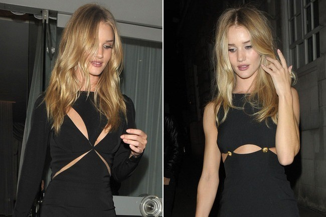 Rosie Huntington-Whiteley Is on a Cutout Kick