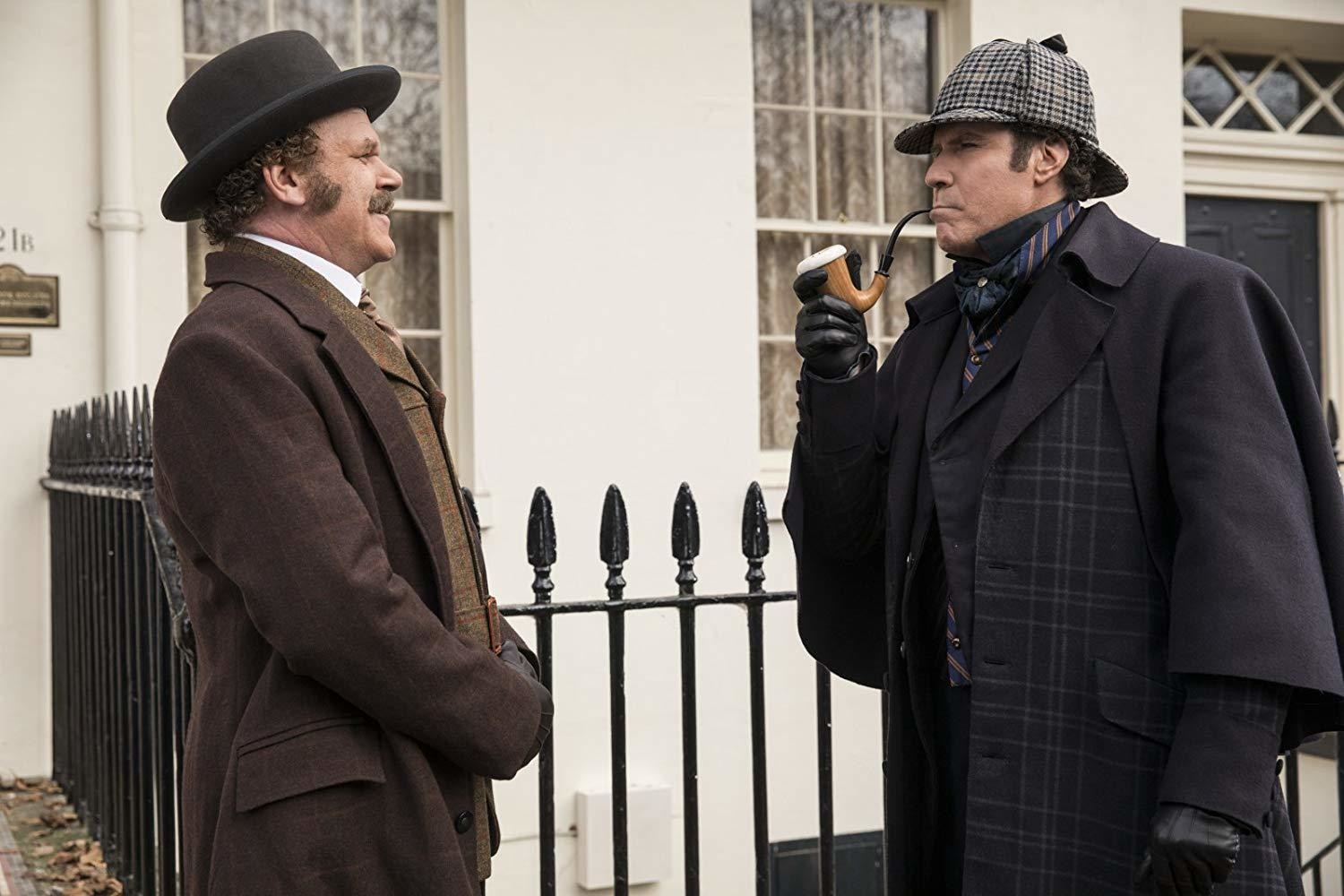 'Holmes & Watson' Got Zero Percent On Rotten Tomatoes, A New Low For Will Ferrell And John C. Reilly