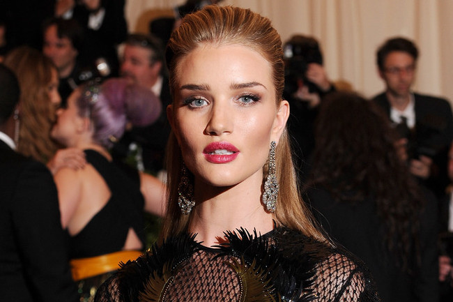 Rosie Huntington-Whiteley's Rock Glamour
