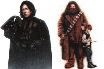 This Is What Happens When 'Star Wars' and Hogwarts Collide