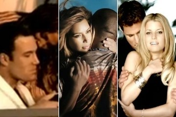 Watch Sexy Celebrity Couples in Music Videos