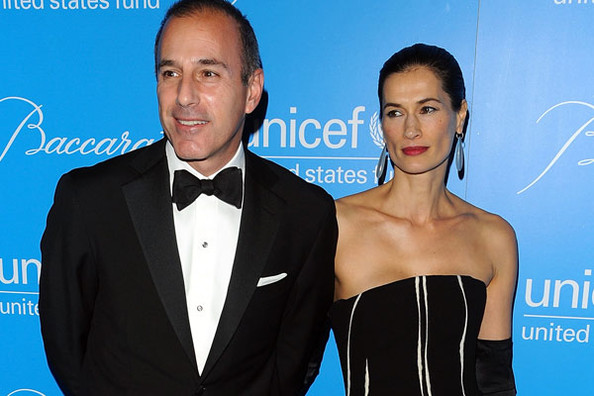 Matt lauer cheats on wife