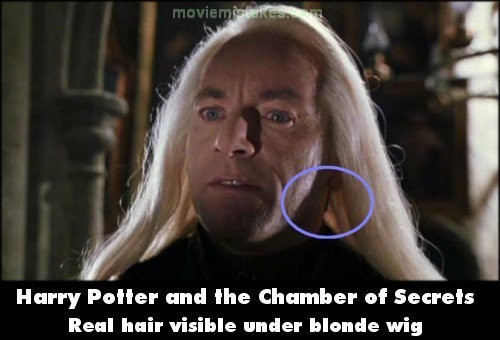 blond ambition harry potter movie mistakes you might not have