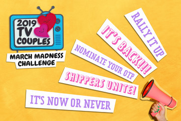Nominate Your Favorite Couples In Zimbio's TV Couples March Madness Challenge!