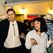 Vincent Vega and Mia Wallace from 'Pulp Fiction'
