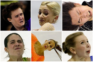 Funny Figure Skating Faces