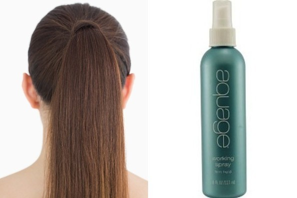 Turn Your Own Hair Into a Ponytail Holder With This AMAZING Aquage Product