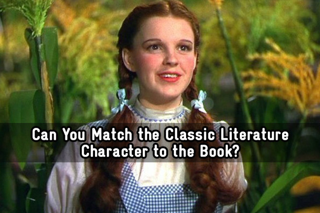 Can You Match the Classic Literature Character to the Book